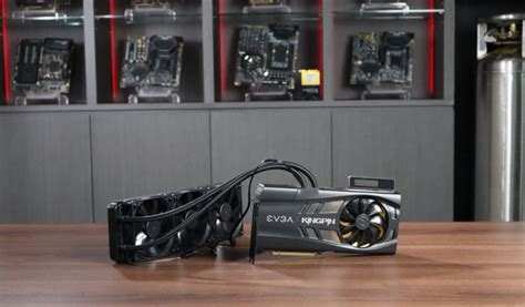 EVGA GeForce RTX 3090 Kingpin Shown Off With Monster